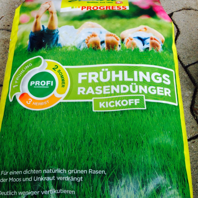 Rasendünger Frühlingsrasendünger