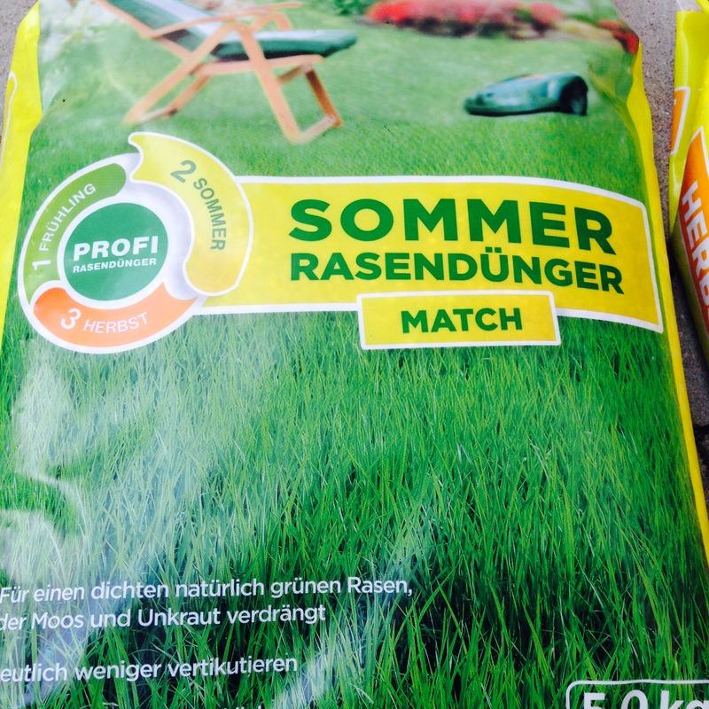 Rasendünger Sommerrasendünger