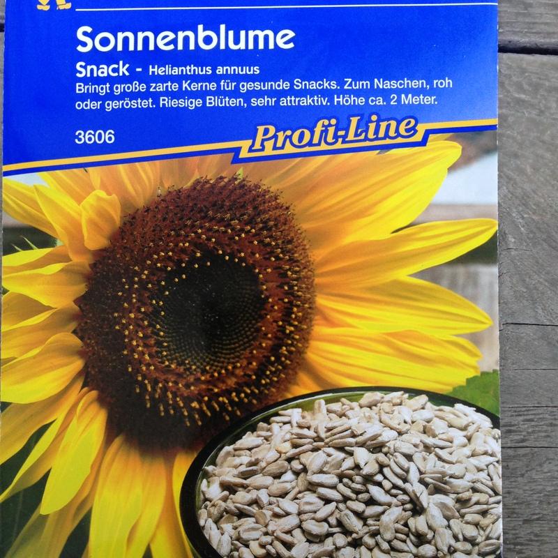 Sämereien Sonnenblumen-Snack