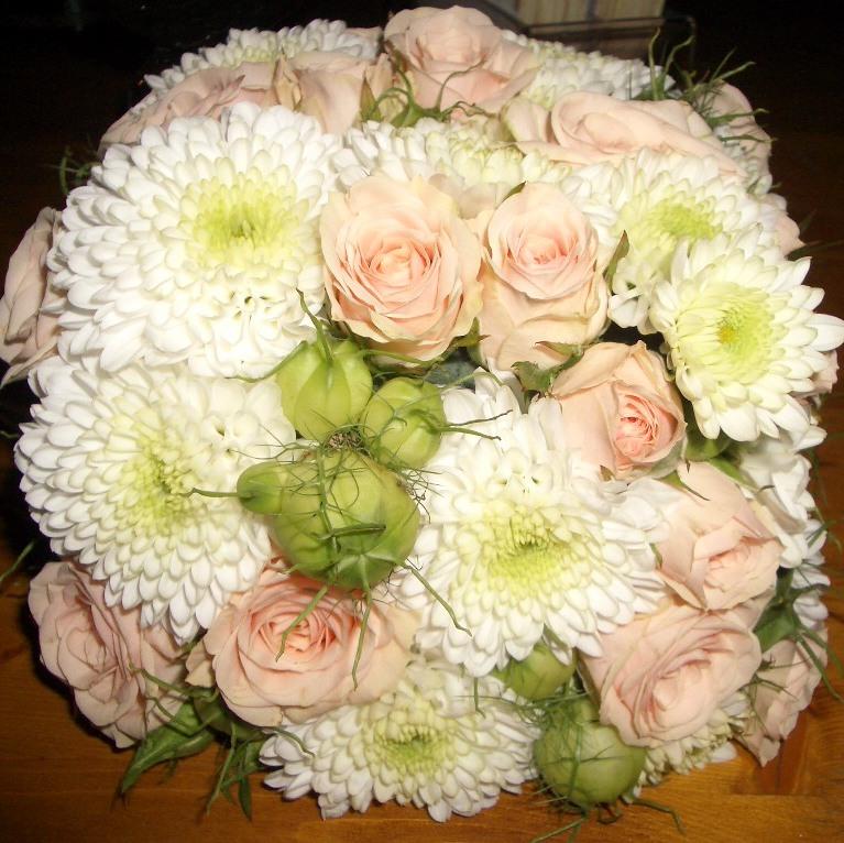 Hochzeitsfloristik Brautstrauß