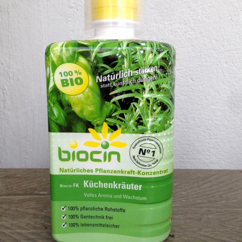 Pflanzenstärkungsmittel Biocin Kräuter