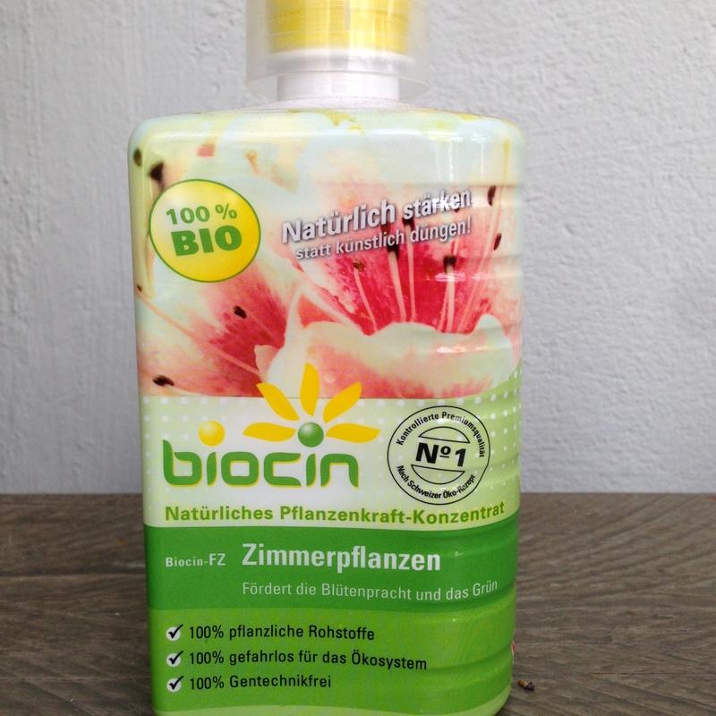 Pflanzenstärkungsmittel Biocin Zimmerpflanzen