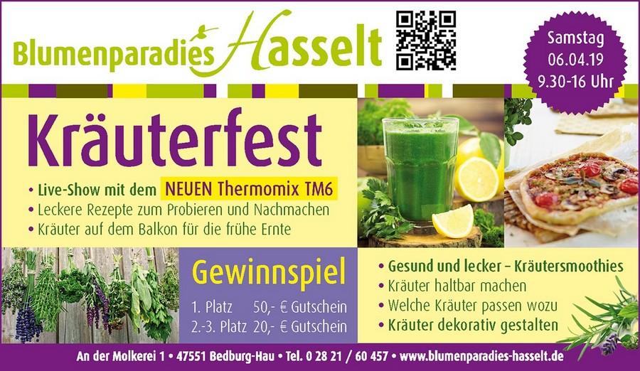 Kräuterfest am 06.04.2019
